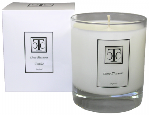 Lime Blossom Scented Candle 40 hour